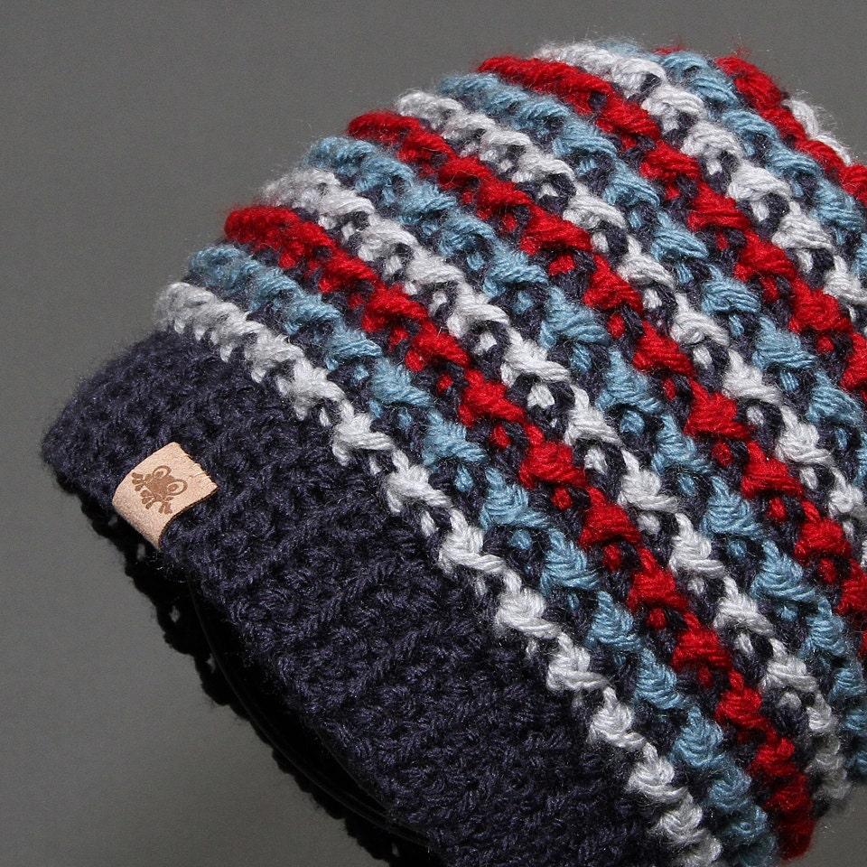 Crochet Hat Pattern Brookside Beanie Pattern Crochet Beanie Etsy