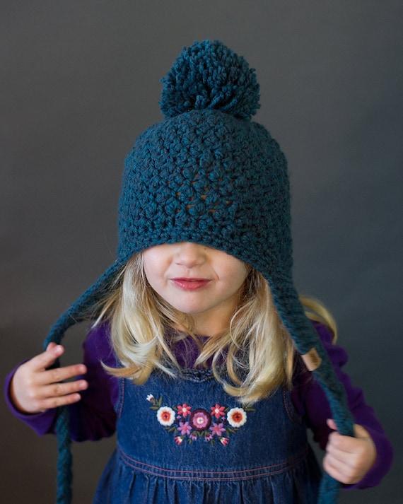 CROCHET PATTERN Cumberland Ski Hat Crochet Hat Pattern  369c3f65ab8