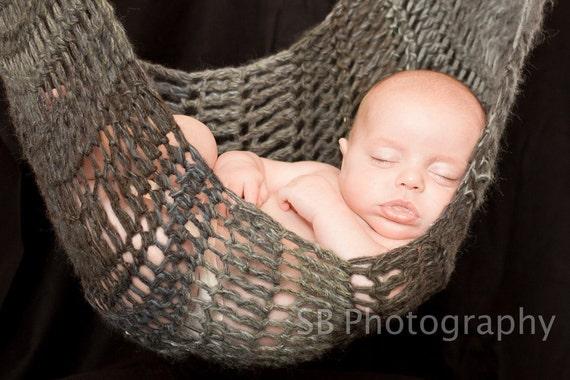 Crochet Hammock Pattern Large Baby Hammock Photography Prop Etsy