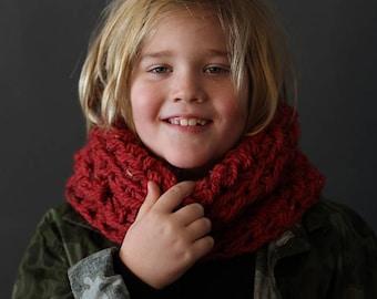 MOUNTAIN HILL COWL - Crochet Cowl Pattern - Childrens Crochet Cowl Pattern - Easy Crochet Cowl Pattern - Crochet  Pattern - Crochet