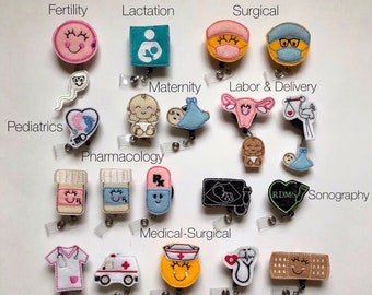 Nurse badge reel  b2a27b7225