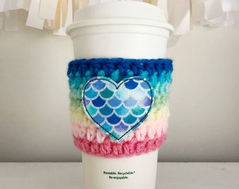 Cup Sleeve, Coffee Cup Cozy, Cup Cozy, Coffee Sleeve, Mug Cozy, Mothers Day Gift, Coffee Lover Gift, Gift for Her, Coffee Gift, Mothers Day