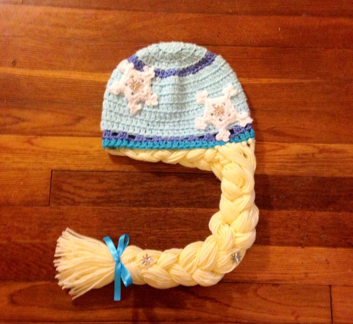 Elsa Crochet Hat Pattern Elsa Hat Crochet Elsa Hat Pattern Etsy