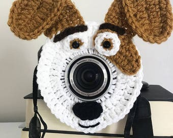 Camera accessories, photographer gift, photo prop, camera buddy,dog lens buddy,photography prop, max secret life of pets,photographer helper