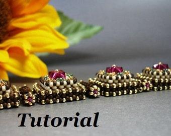 Tutorial for Layer Cake Cuff Bracelet