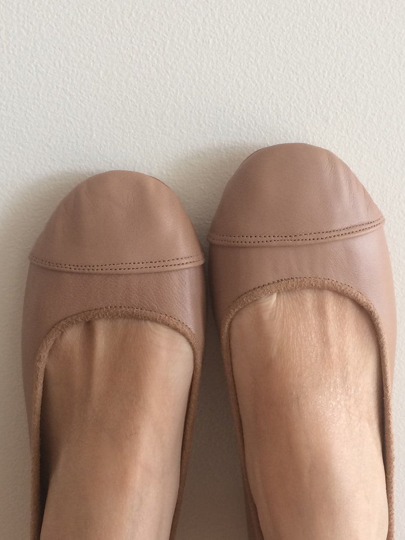 236b486ede1cb LUNAR. Latte flats / women shoes / leather flat shoes / women flats /  Latte, brown leather flats. Available in different colours