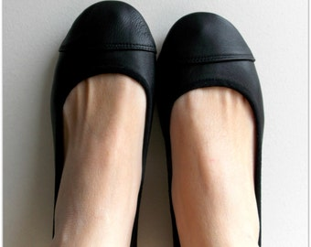 LUNAR- Ballet Flats - Leather shoes - 38- Black. Available in different colours & sizes