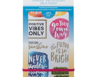 Inspirational Life Planner Sticker Book (18 pages, 1,675 pcs) - American Crafts