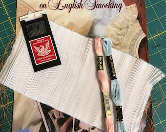 Learn to Smock Kit with Ellen McCarn on English Smocking Book