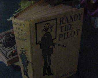 Antique Victorian Randy the Pilot Perils of the Great Lakes Steamship Boating Book 1902