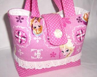 f007a8b7b2 Frozen Elsa and Anna Glitter Children Handbags Little Girls Purse