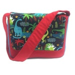 Kids Messenger Bag, Toddler School Bag, Kids Diaper Bag, Mini Messenger Bag, Kids Monogram Bag, Preschool Bag