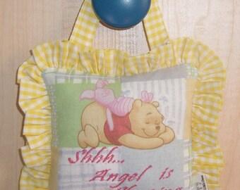 Shhh...Baby Sleeping or Thank Heaven for little... Door Hangers