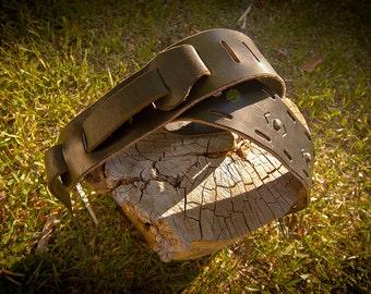 Adjustable Leather Guitar Strap