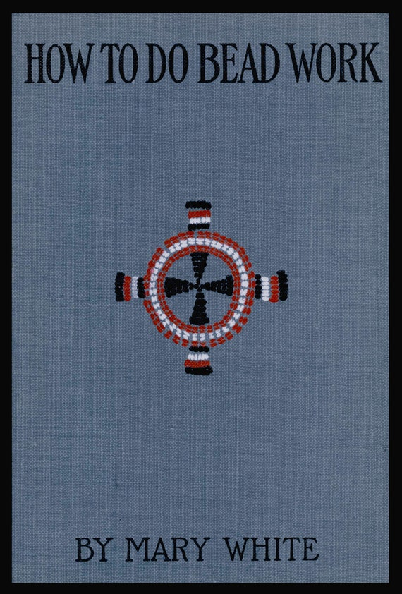 How To Do Bead Work C1904 By Mary Martin Rare Book Of Etsy