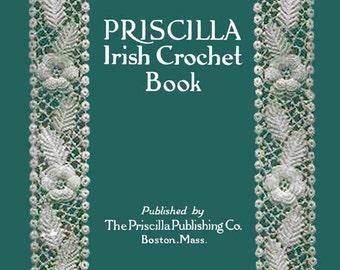 Priscilla Irish Crochet Motif Pattern Book (1) c.1912
