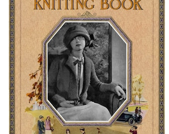 Minerva (19) c.1924 - Vintage Style Knitting & Crochet Patterns for the Whole Family