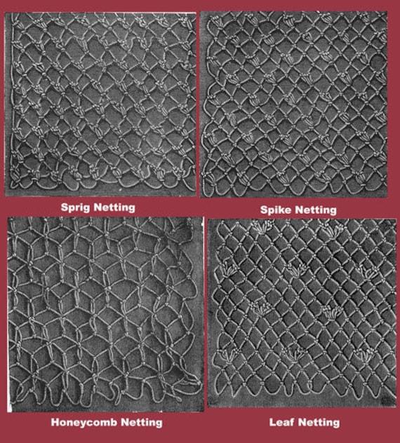 Weldon/'s 2D #21 c.1886 Practical Netting Net Making for Craft or Needlework