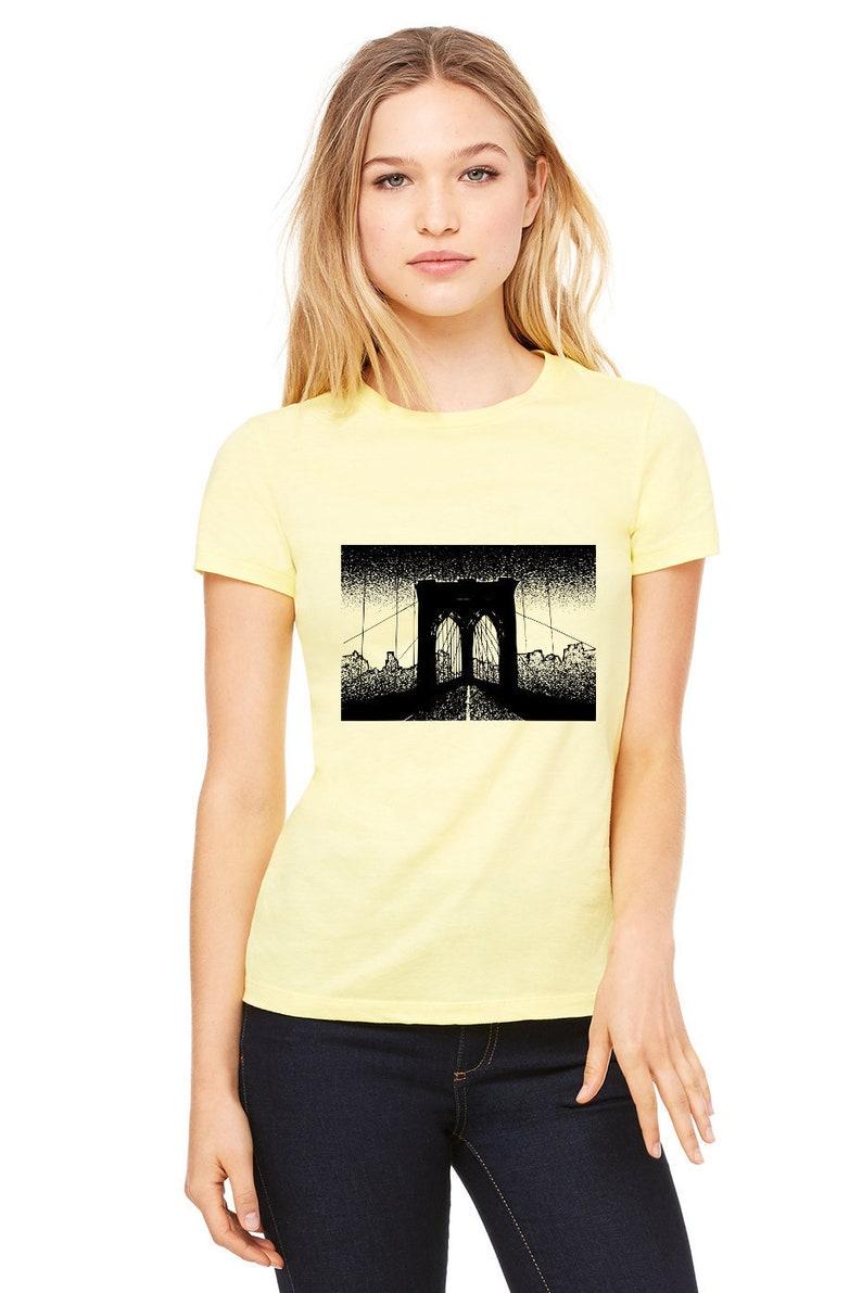 48c4e897 Brooklyn Shirt Brooklyn Bridge T-Shirt New York NYC Shirt | Etsy