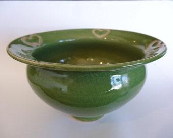 Green Hearts Bowl