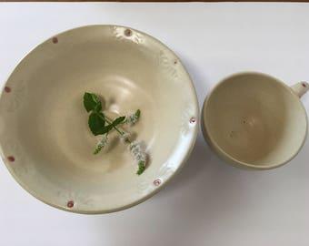 Soup & Salad ceramic set