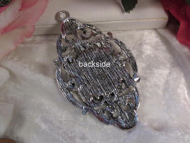 Empress 3 pc : sku 02.01.14.11 25x18mm Antique Silver U3