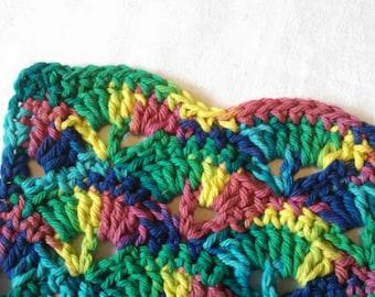 Rainbow Washcloth
