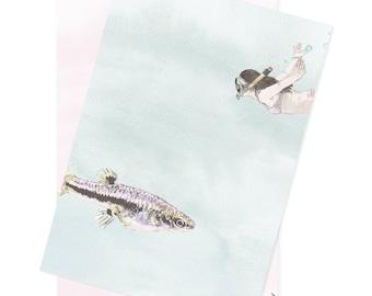 SAMPLES Fish Wallpaper Sample