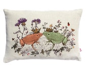 Kissing Frogs Cushion