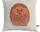 Hedgehog Round Cushion