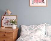 Bed Linen - Woodlands Blue