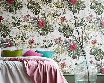 Seasons Summer Tropical Bloom Wallpaper