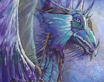 Dragon in Purple
