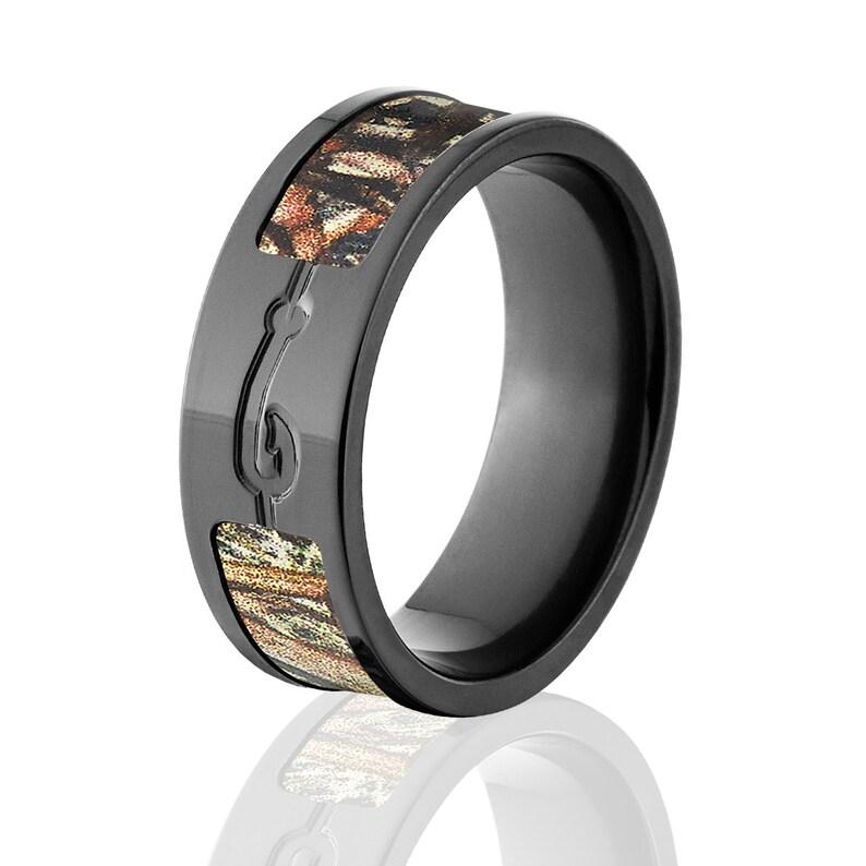 95ad950c3930e Fishhook Duck Blind Camo Rings, Mossy Oak Camo Rings, Duck Blind Camo  Wedding Bands, Fishing Rings: BZ-DB-Fishhook