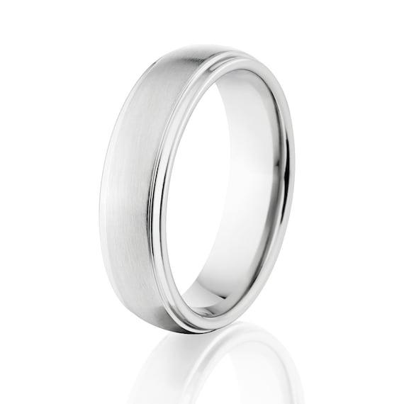 Cobalt Wedding Rings Cobalt Chrome Wedding Bands Made Here Etsy