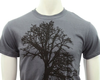 Tall Sizes T shirt | Oak tree | Men's classic T Shirt | up to 3XL | Gift for him and her | Tree hugger | Three of life