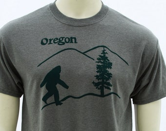 Tall Tshirt | Oregon Bigfoot | Men's classic T shirt | Sasquatch | Size up to 3X Tall