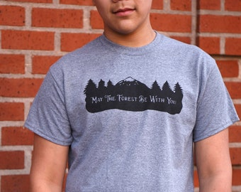 May The Forest Be With Your | Men's classic T Shirt