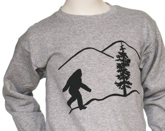 Bigfoot | Children Crew neck Sweatshirt | Toddler and Youth sizes | Sasquatch | Children jumper