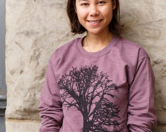 Oak tree | crew neck sweatshirt | classic jumper | unisex | up to size 3XL