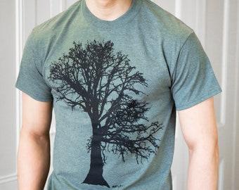 Oak tree - Men's classic T Shirt - Art by Matley