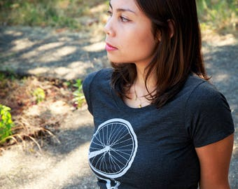 Bicycle - Soft lightweight T shirt - Slim fit tee