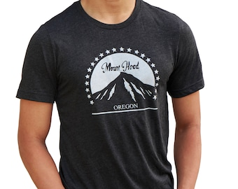 Mount Hood Oregon | Soft Lightweight T Shirt | Unisex crew & V-neck