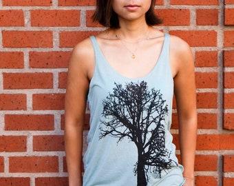 Oak tree | Women's relax fit tank top | Flowy top