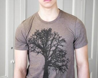 Oak Tree - Soft lightweight T Shirt - crew & Vneck