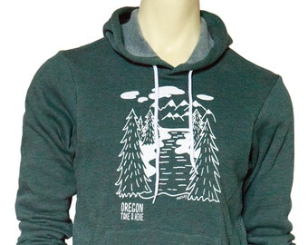 Oregon - Take a hike  | Soft classic pullover hoodie | Unisex