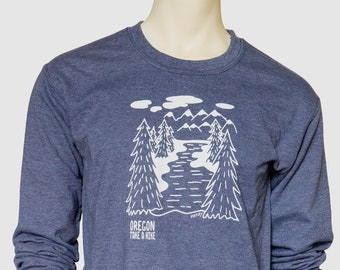 Take a hike | Unisex Sweatshirt | Oregon | Classic crew neck