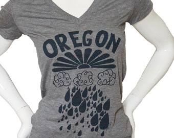 Oregon rain - Lightweight soft t shirt - Slim Fit