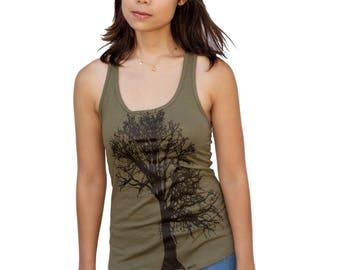Oak Tree | Racerback Yoga Tank Top | Soft lightweight