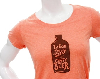 Beer - Soft Lightweight T Shirt -Slim fit